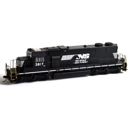 Athearn HO Scale EMD SD38 Diesel Locomotive Norfolk Southern/NS #3817