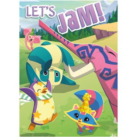 Animal Jam Invitations, 8ct - Monster Jam Birthday Invitations
