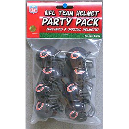 Chicago Bears Team Helmet Party Pack