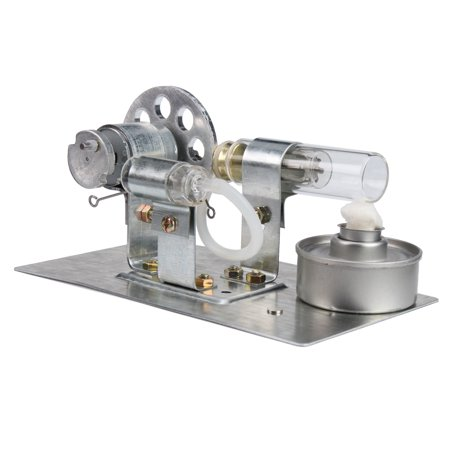 Mini Hot Air Stirling Engine Model Toy Physics Experiment Education Assembling Kit New