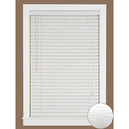 Mini Window Blinds 2 Quot Vinyl Plantation Blind Embossed