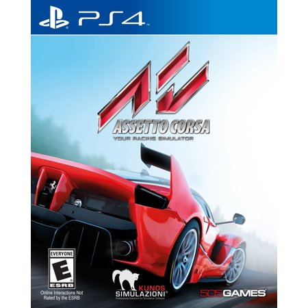 Assetto Corsa, 505 Games, PlayStation 4,