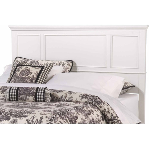 Home Styles Naples King Headboard, White Finish