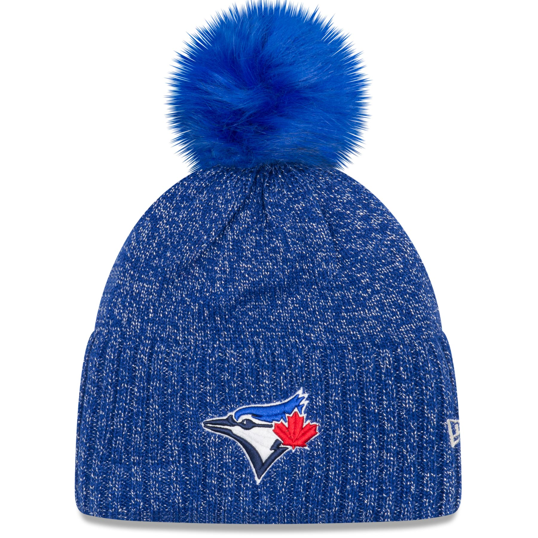 Toronto Blue Jays Women's MLB Dazzle Knit Pom Hat