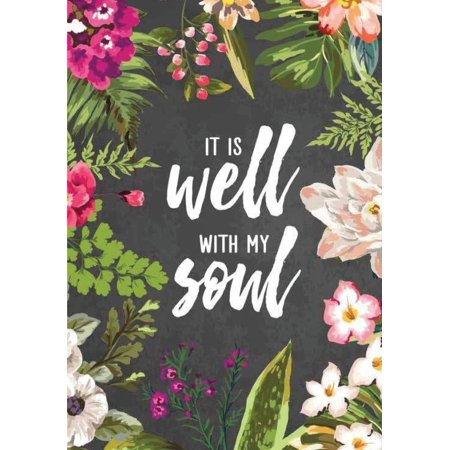 It Is Well with My Soul: Pocket Notebook Journal Diary, 120 Pages, 7 X 10 (Dot-Grid, Graph) -