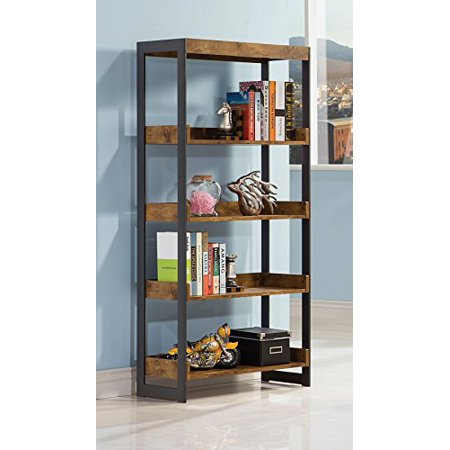 Coaster Furniture 800657 Estrella Antique Nutmeg Bookcase ()