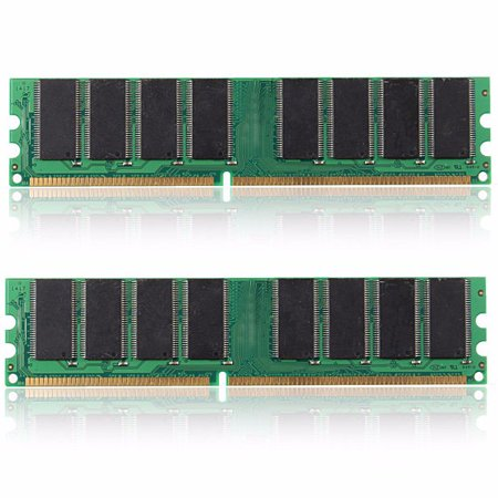 2GB(2x1GB) DDR 333MHZ PC2700 184 PINS NON-ECC LAPTOP PC DIMM MEMORY RAM Chip Set ()