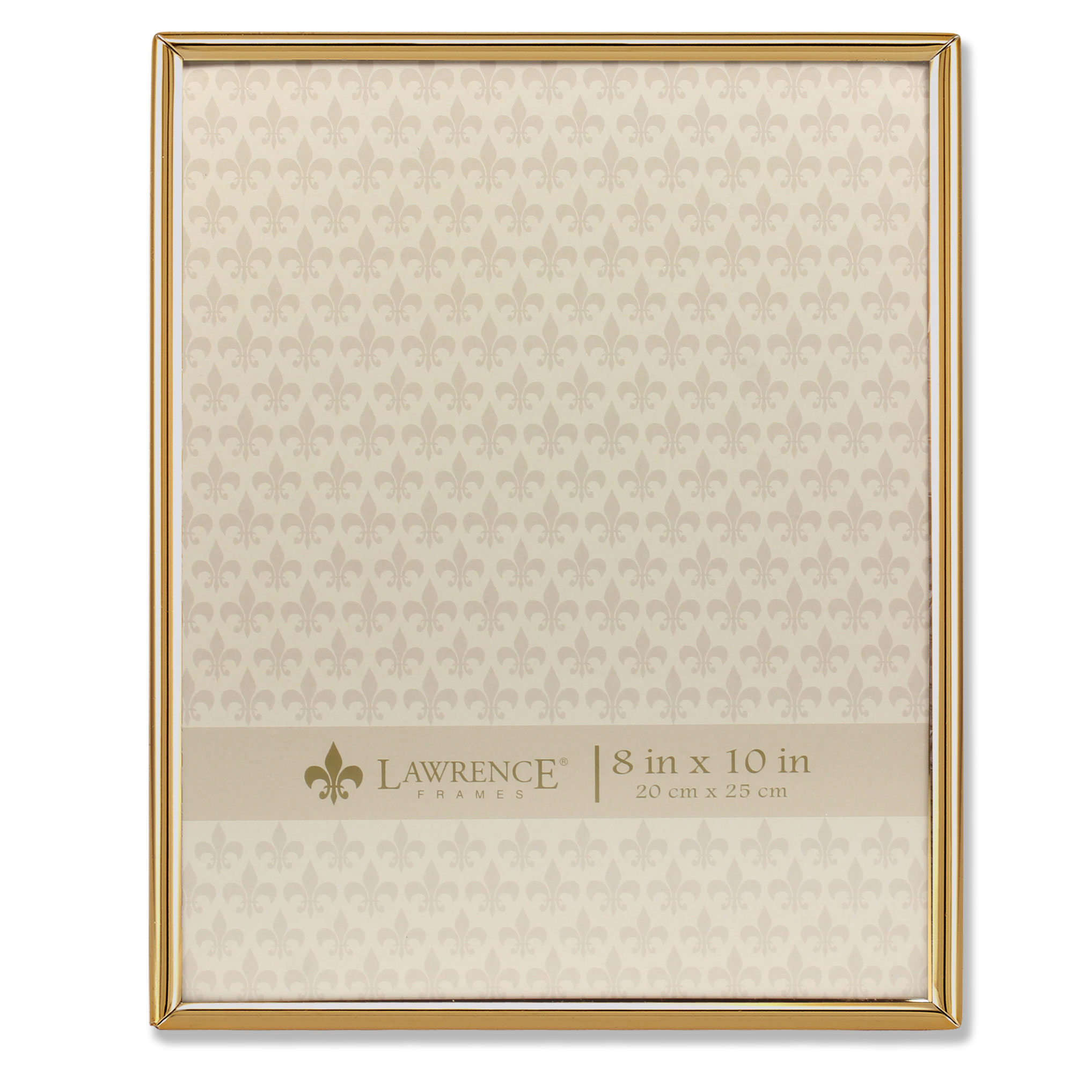 8x10 Simply Gold Metal Picture Frame
