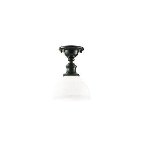 Hudson Valley Lighting Sutton 1 Light Semi Flush Mount