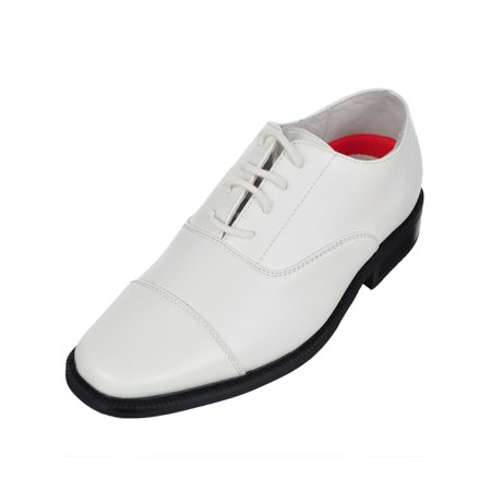Joseph Allen Boys' Dress Shoes (Sizes 9 -12) Boys White Dress Shoes