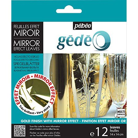 Real Gold Leaf - PEBEO 766549 GEDEO MIRROR EFFECT LEAF GOLD
