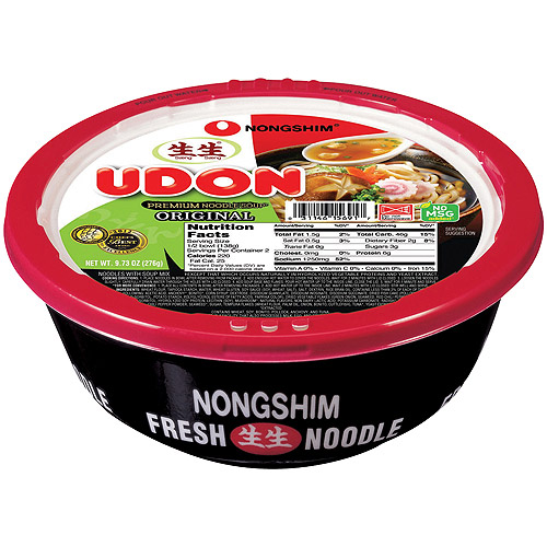 Nongshim Udon Original Premium Noodle Soup, 9.73 oz (Pack of 6)