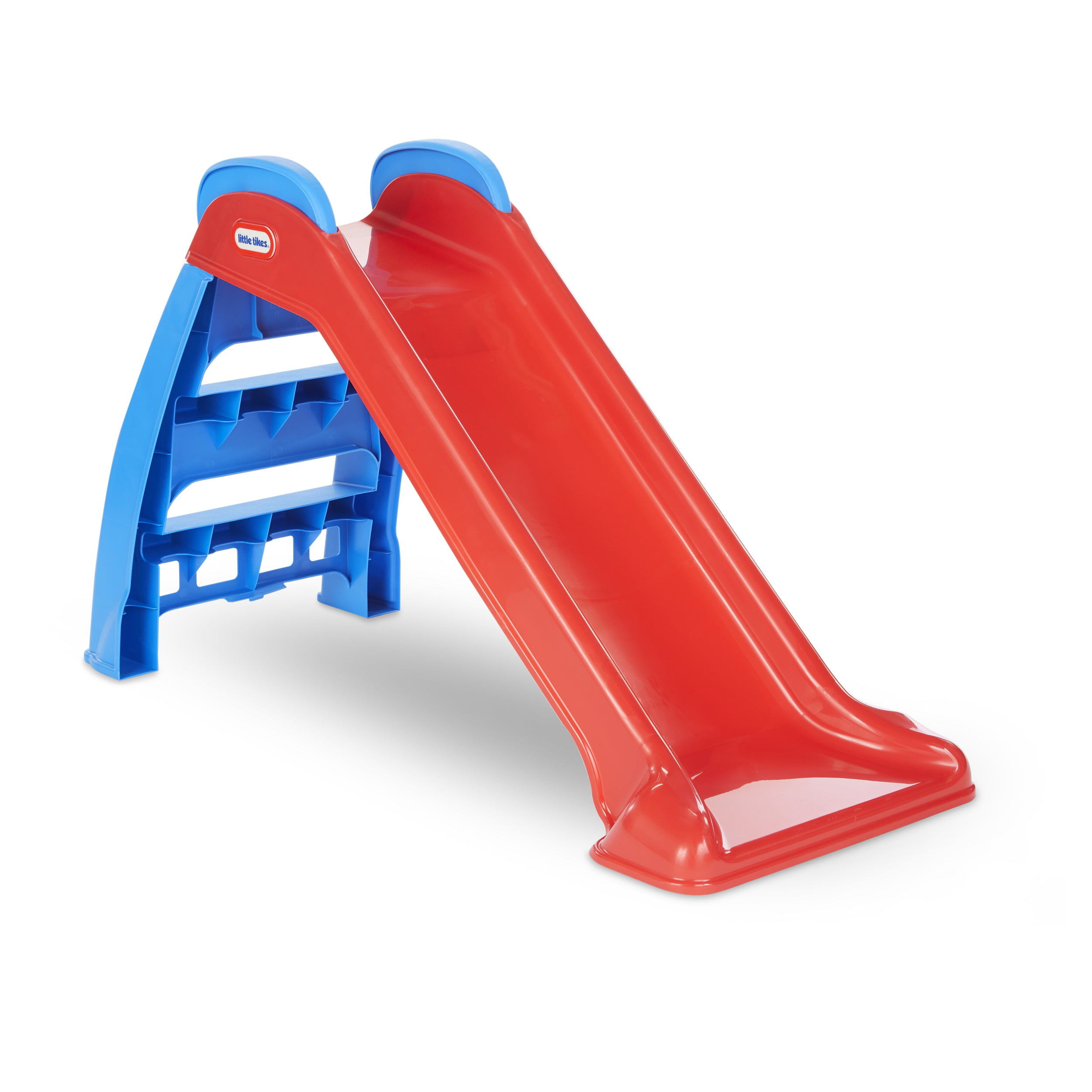 Little Tikes First Slide Red Blue Indoor Outdoor Toddler Toy Walmart Com