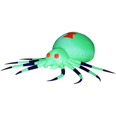 Giant Spider Airblown Halloween Accessory
