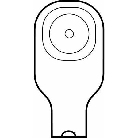 Hollister 1 Piece Ostomy Drain Mini Pouch 1 1/2