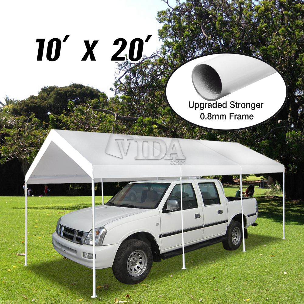 VidaGoods 10'x30'/ 10'x20 White Canopy Party Wedding Outd...
