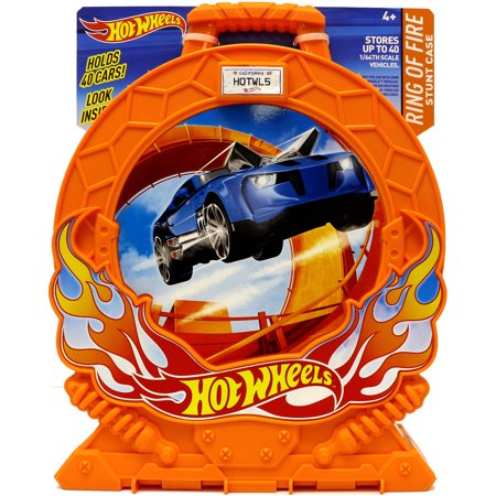 Hot Wheels Ring Of Fire Stunt Case