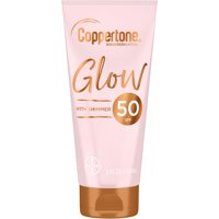 Coppertone Glow SPF 50 Sunscreen Lotion with Shimmer, 5 fl oz