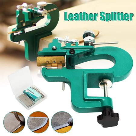 Edge Skiving Machine Leather Splitter Paring Machine Leather Skiver Blade Hot US