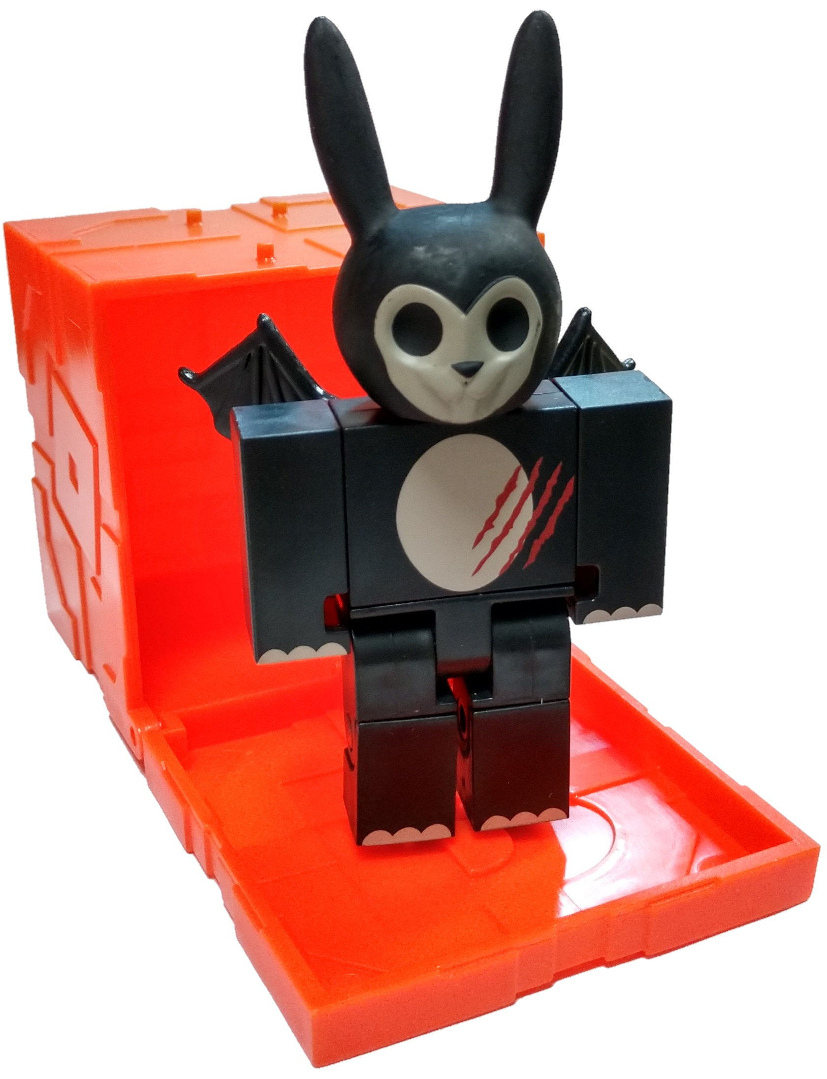 Roblox Series 6 Hunted Zombie Bunny Mini Figure With Orange Cube And Online Code No Packaging Walmartcom - videos matching dressing up like my haunted dolls roblox