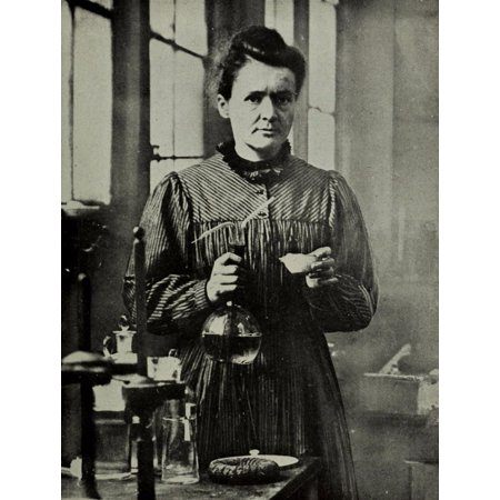 Laminated Poster Marie Curie Science Polish Chemist France Decor Poster Print 24 x 36 - Science Decor