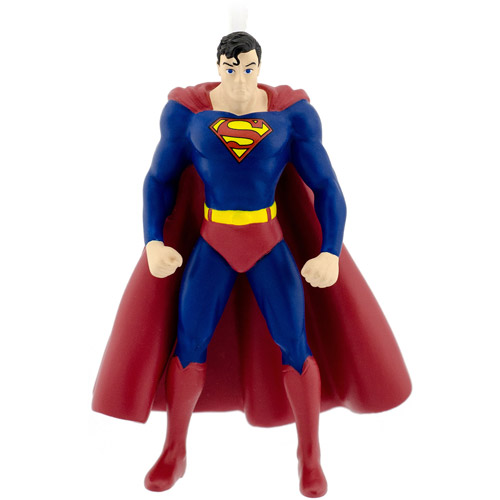 Hallmark DC Comics Superman Christmas Ornament - Walmart.com