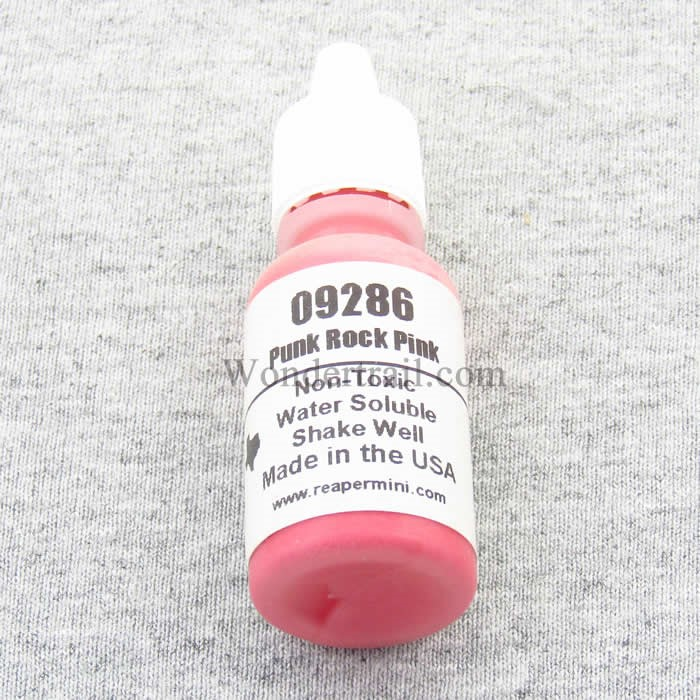 Punk Rock Pink Acrylic Reaper Master Series Hobby Paint .5oz Dropper Bottle Reaper Miniatures