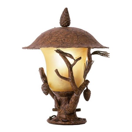 Ponderosa Ponderosa Outdoor 3 Light Lantern Head