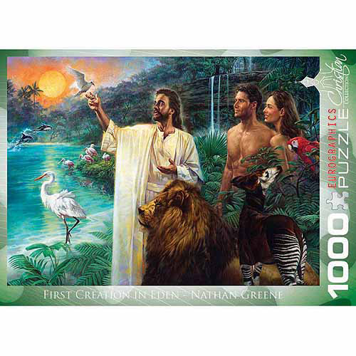 EuroGraphics First Creation Eden by Nathan Greene 1000-Piece Puzzle by Generic