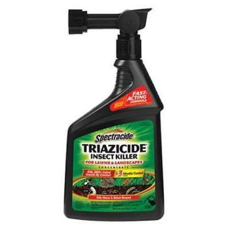 - Spectracide 32 OZ Ready To Spray Triazicide Hose End 2PK