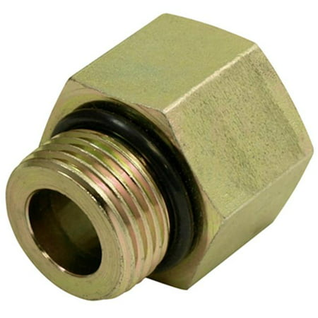 Apache 39036154 .50 in. Male O-Ring x .37 in. Female Pipe, Hydraulic Adapter - image 1 de 1