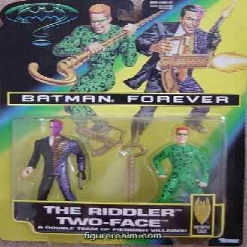Batman Forever Riddler and Two-face 2-pack Action Figure Set by