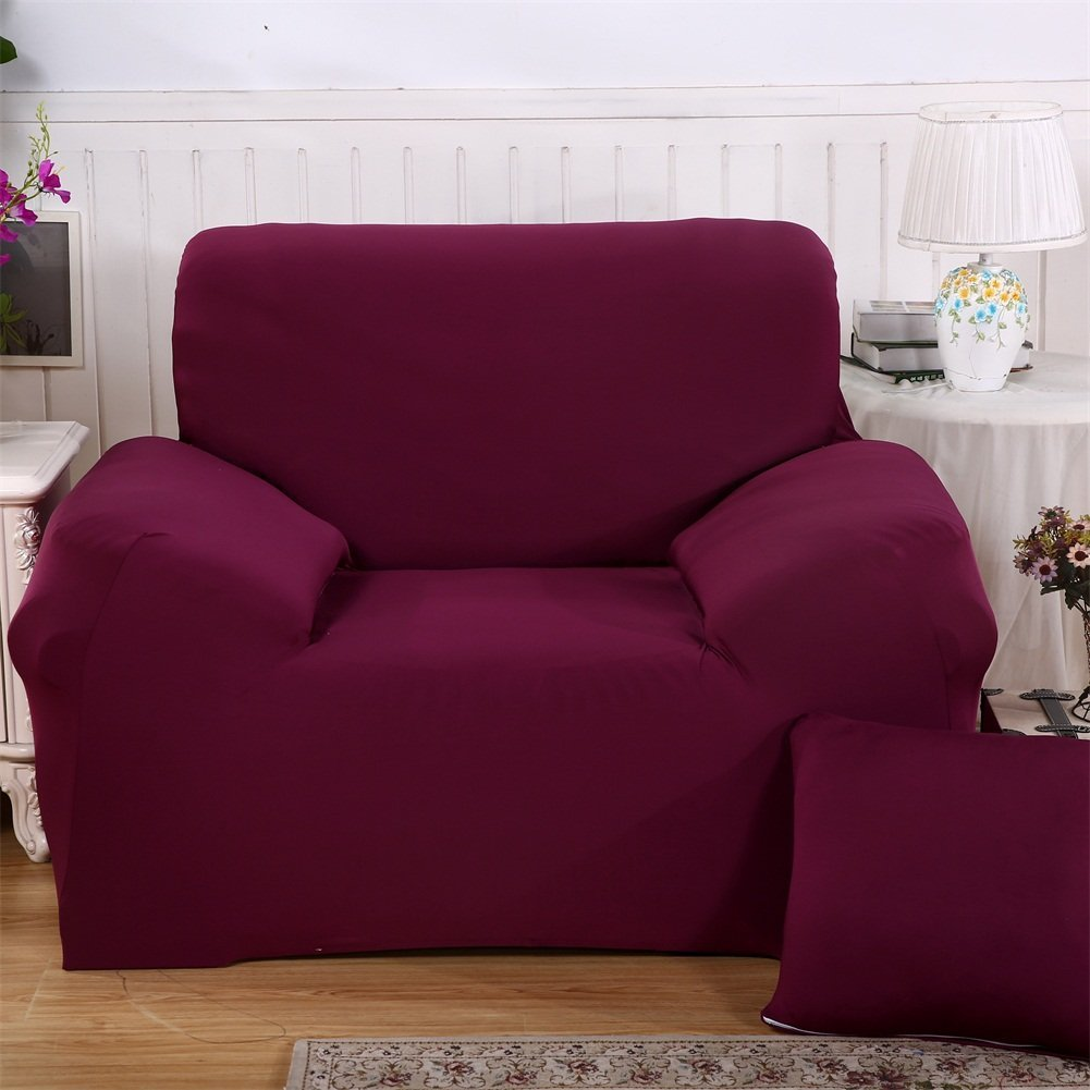 Stretch Fabric Sofa Slipcover 1 2 3 4 Piece Elastic Sectional