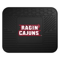 ncaa university of louisiana - lafayette utility mat, small, black
