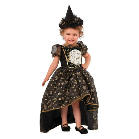 Witch Costume For Toddlers (Rubie's Costume Glitter Witch Child Costume,)