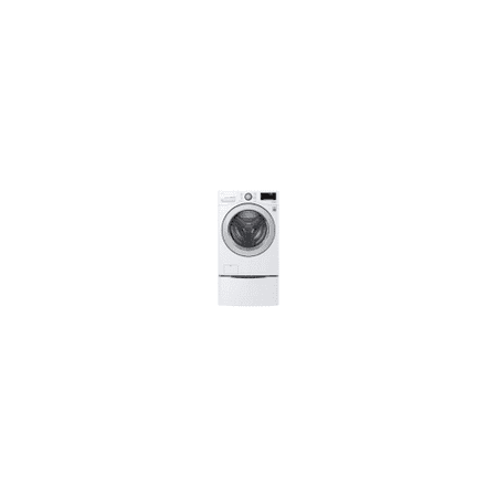 LG WM3500CW 4.5 cu.ft. Ultra Large Capacity Front Load Washer with Coldwash™ Technology and Wi-Fi Connectivity, White