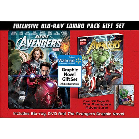 Marvel's The Avengers (Blu-ray + DVD + Graphic Novel) (Exclusive)  (Widescreen)