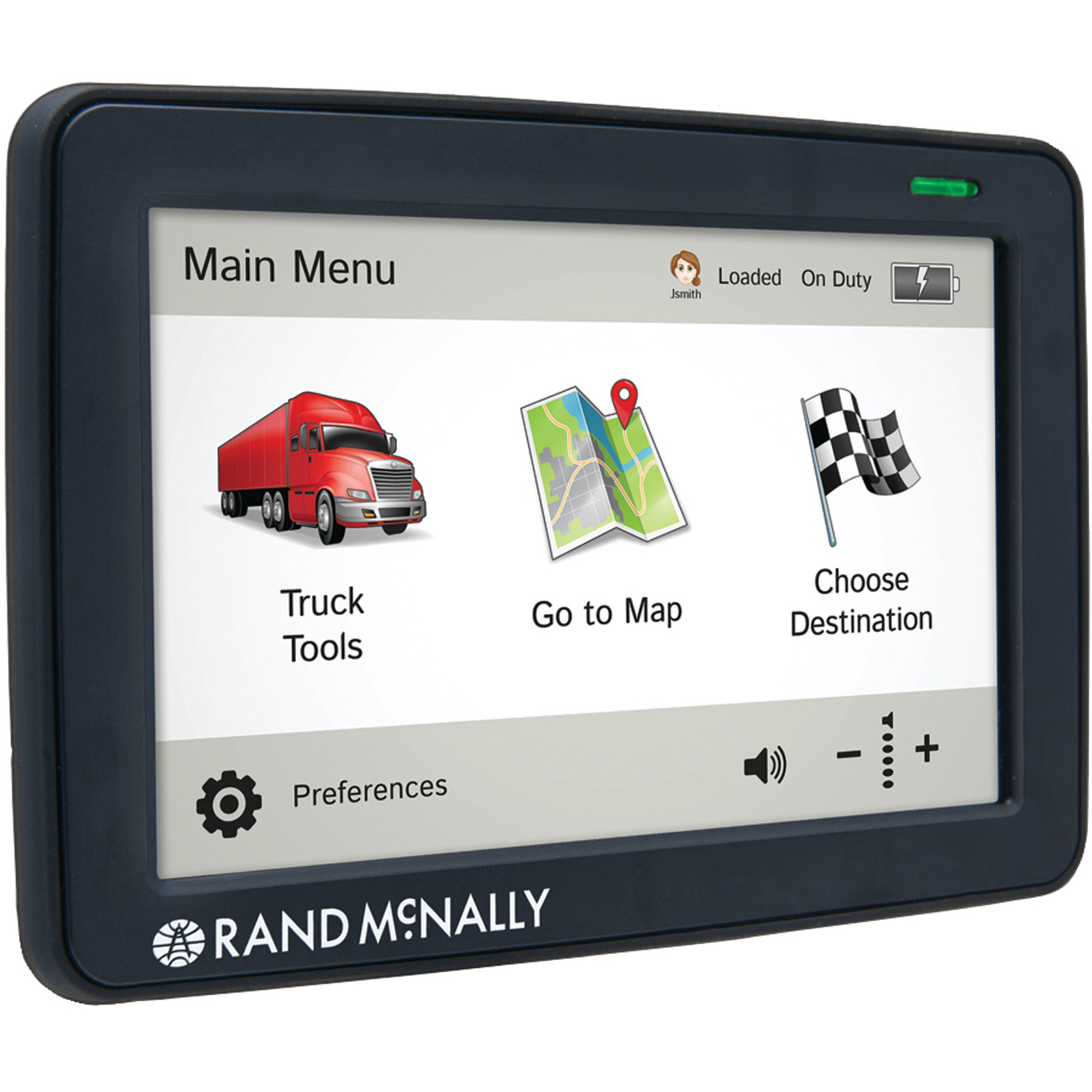 "Rand McNally IntelliRoute 5"" TND 530 GPS Unit"