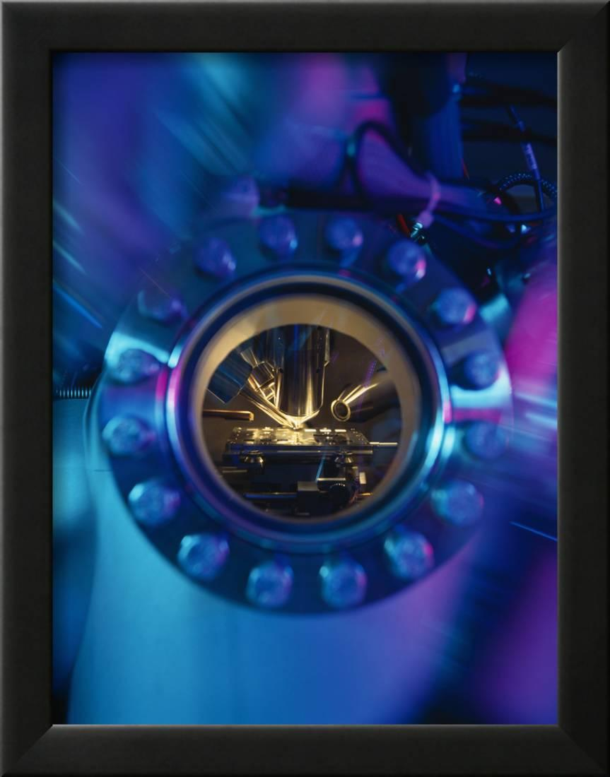 Mass Spectrometer Framed Photographic Print Wall Artwork By Tek IMage by AllPosters