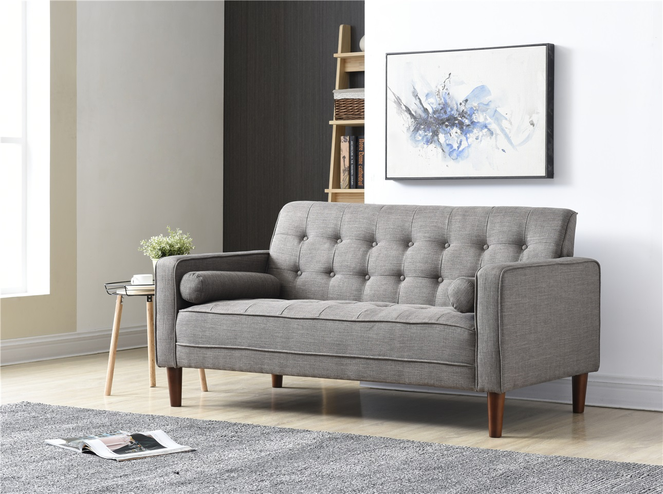Nathaniel Home Nolan Small Space Sofa, Multiple Colors Image 2 Of 5
