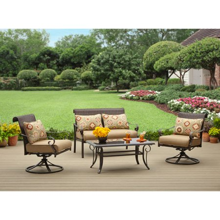 Better homes and gardens riverwood 4 piece patio - Better homes and gardens patio cushions ...