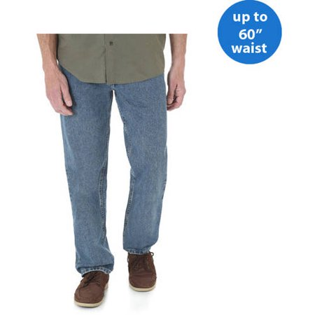 24fb5b1208e Wrangler - Wrangler Big Men's Relaxed Fit Jean - Walmart.com
