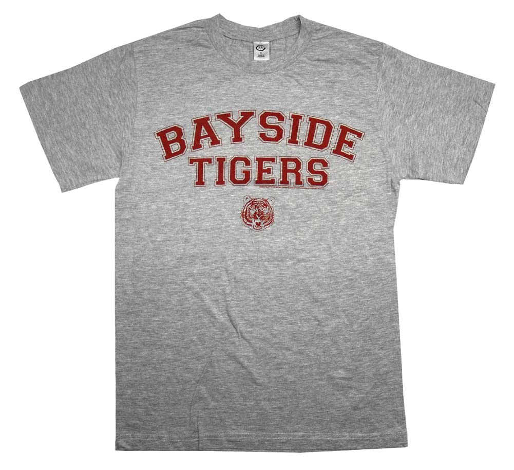 Saved By The Bell Bayside Tigers Team TV Show T-Shirt Tee