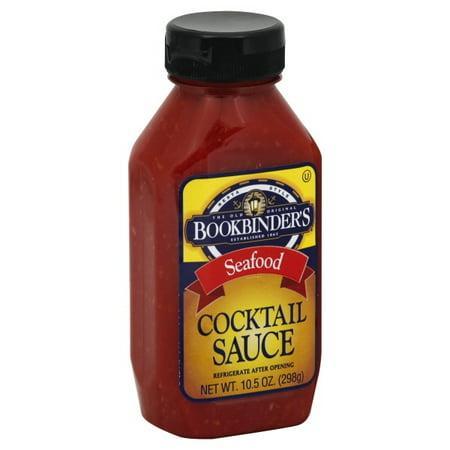 - Bookbinder's Cocktail Sauce Seafood, 10.5 OZ