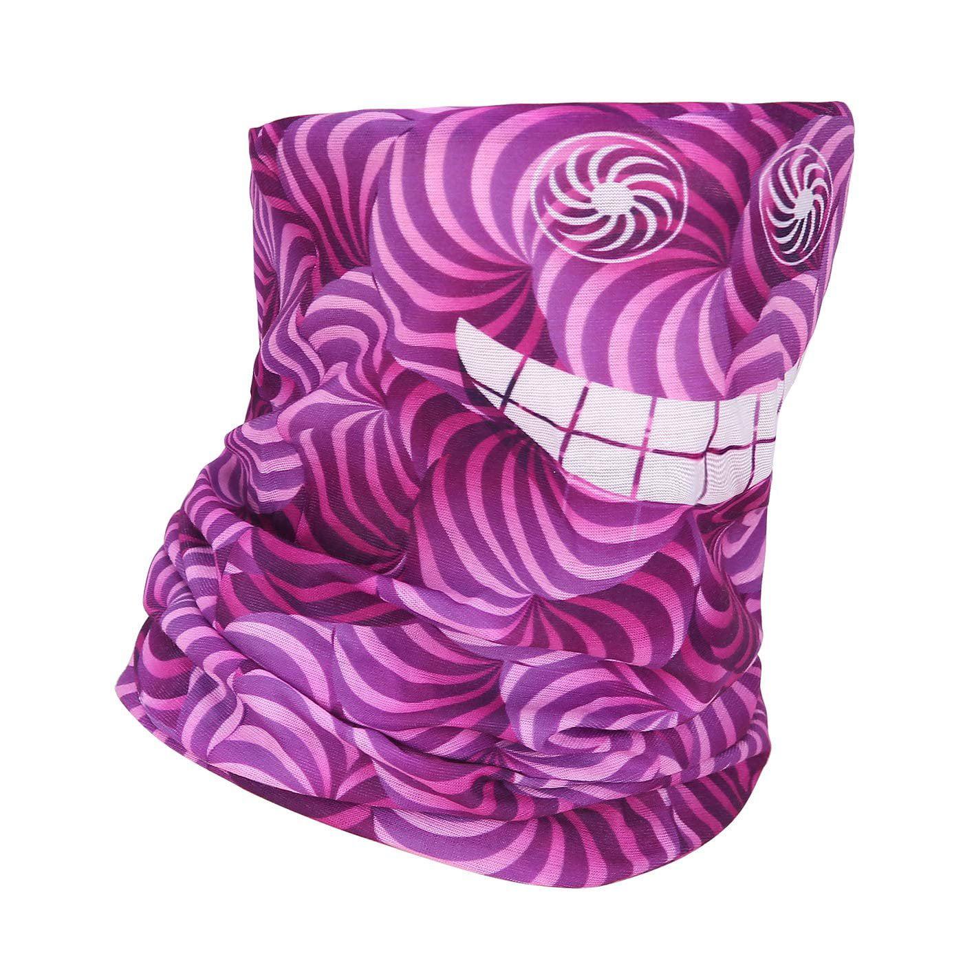 Magic Headwear Yin-Yang Flower Outdoor Scarf Headbands Bandana Mask Neck Gaiter Head Wrap Mask Sweatband