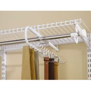 Rubbermaid Configurations 30-Hook Tie And Belt Organizer, White