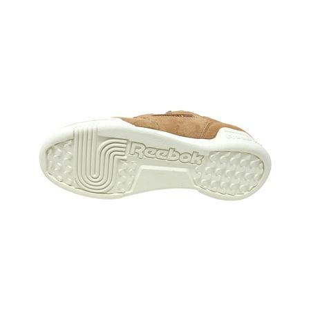 Reebok Men's Workout Plus Mu Dark Cypress / Sahara Chalk Ankle-High Leather Fashion Sneaker - 4M - image 3 of 4