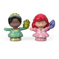 Disney Princess Ariel & Tiana Figure 2-Pack by Little People
