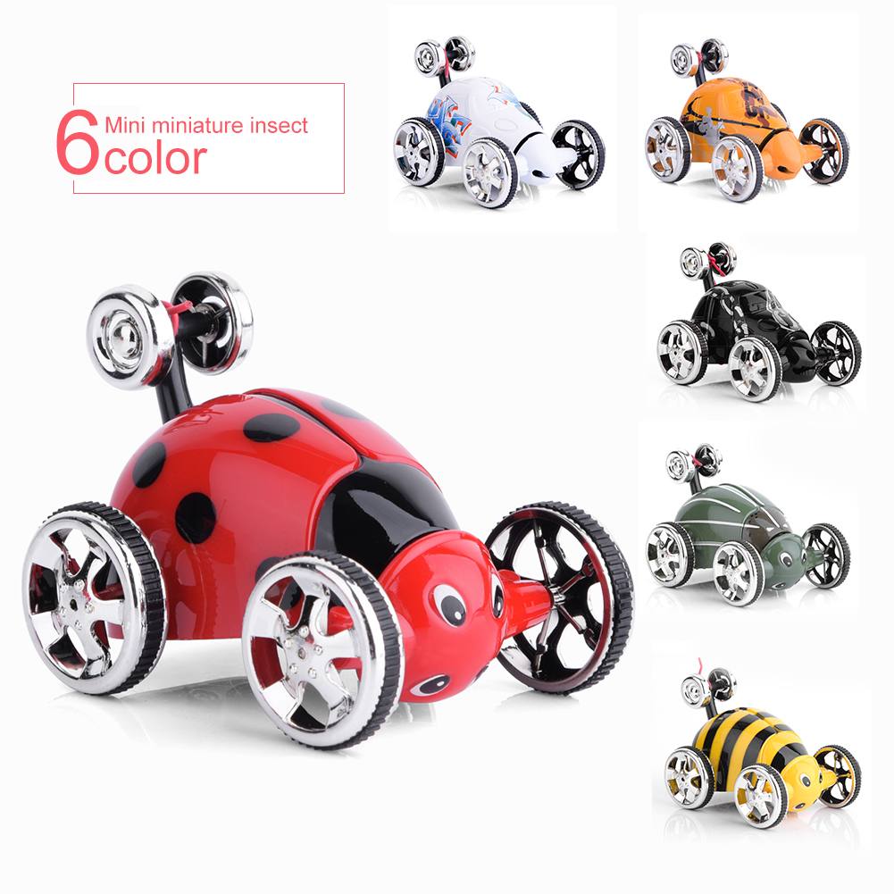 Remote Control Car, Mini Insect RC Cars for Kids, Jeep Vehicle Sport Racing Hobby Scale for Boys Girls, Pack of 1(Red)