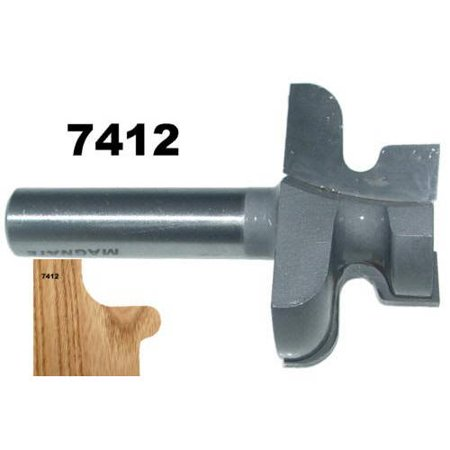 Magnate 7412 Door Lip Finger Pull Router Bit 2